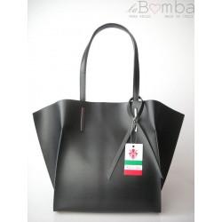 WOREK SHOPPER BAG A4 CZARNY V4N