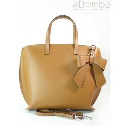 Carmelowa Włoska torba A4 Shopper Bag Vera Pelle SB689C